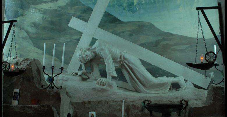 Wooden Jerusalem Cross