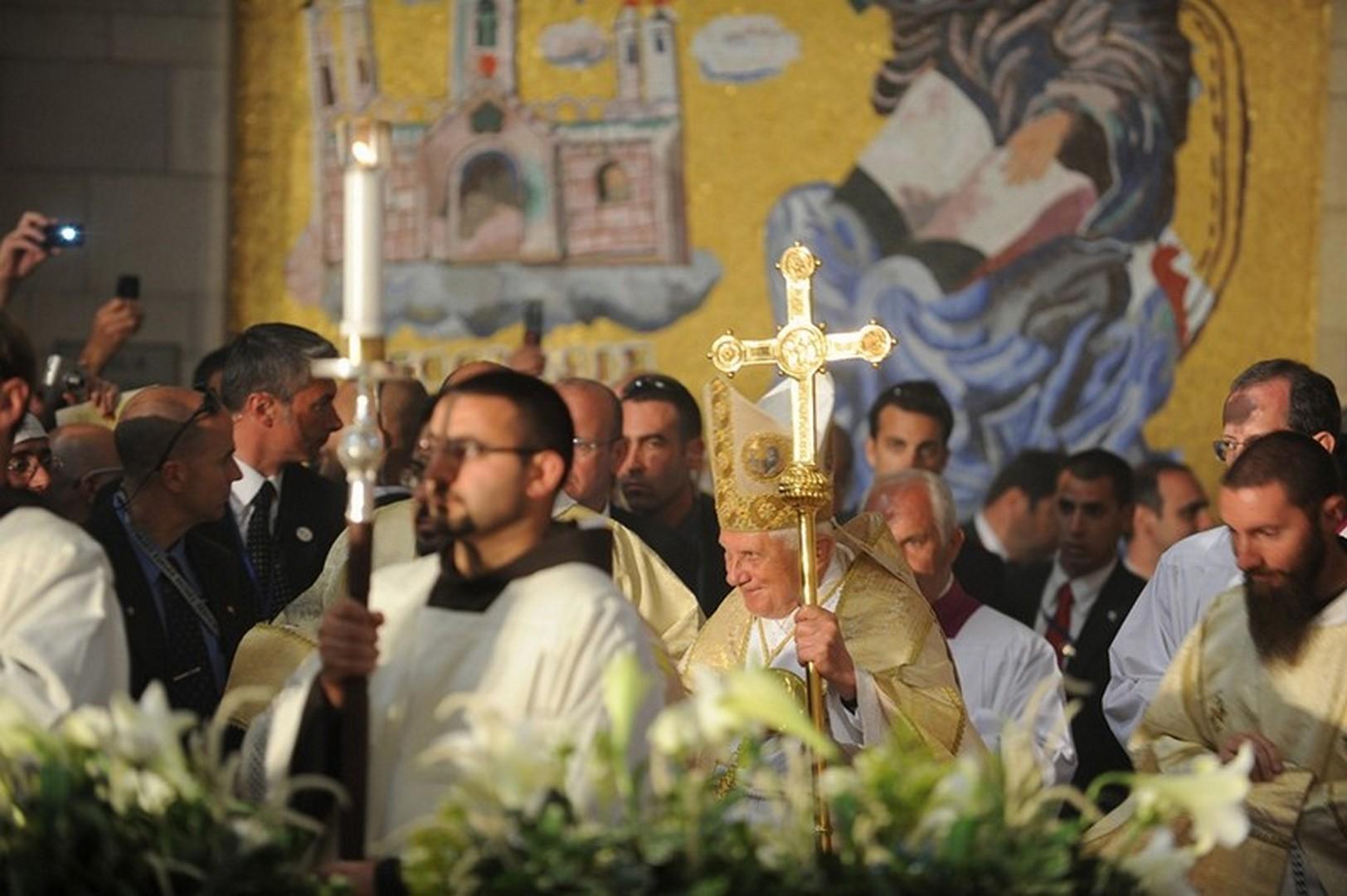 Pope Benedict XVI Visit in Israel 2009