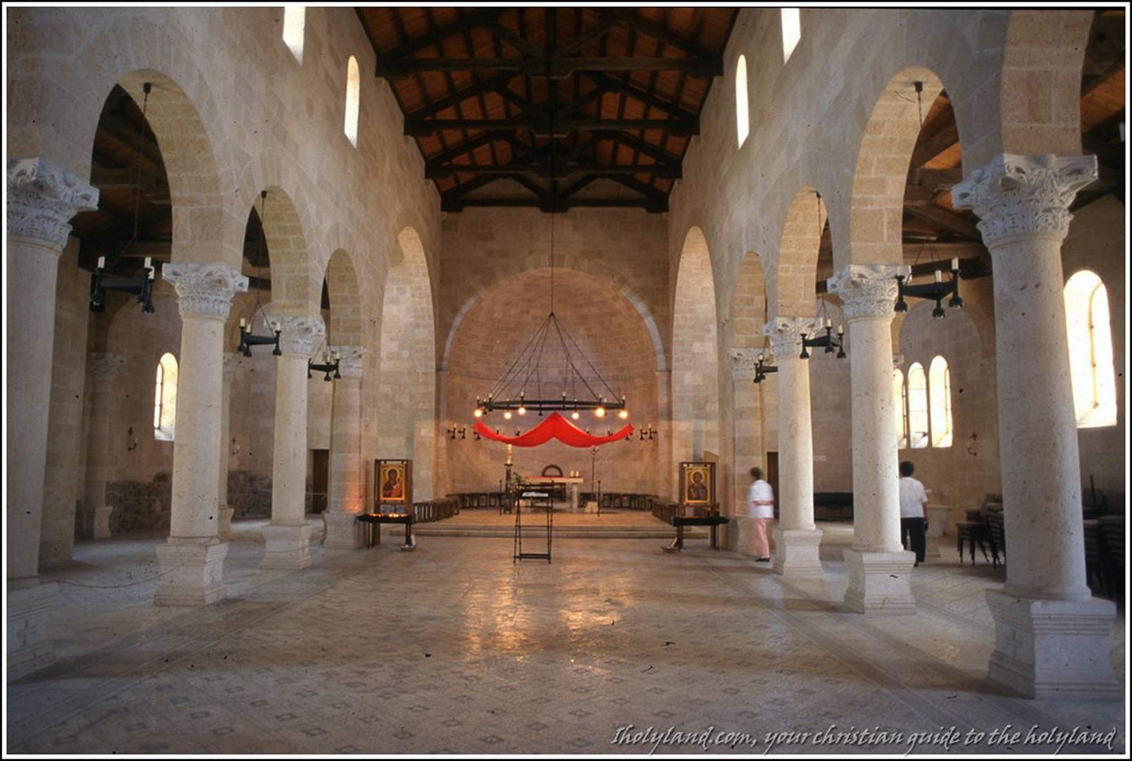 The Church of the Multiplication of the Loaves and Fishes
