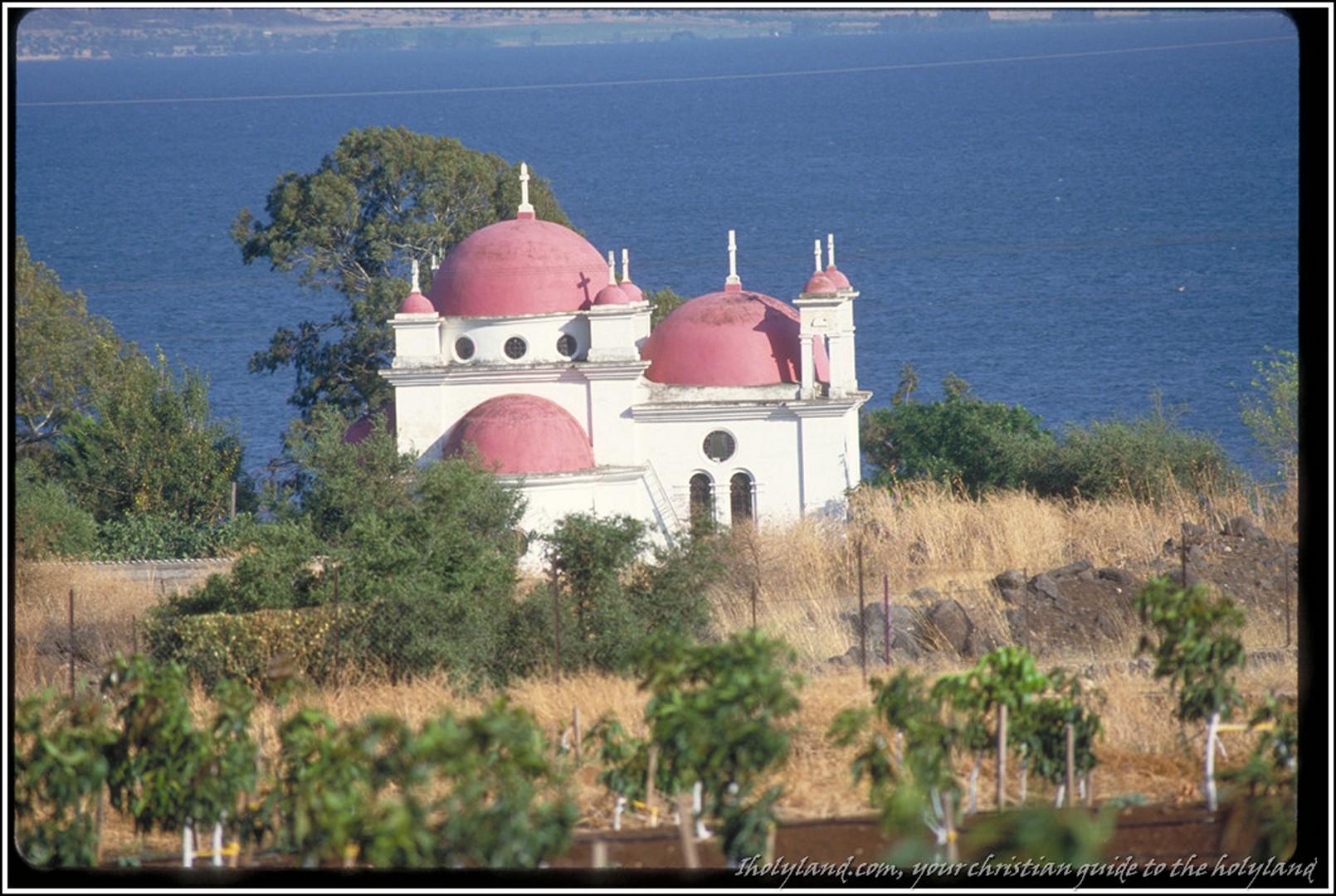 Orthodox Church at Capernaum